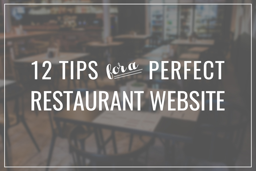 How to make a perfect website for your restaurant